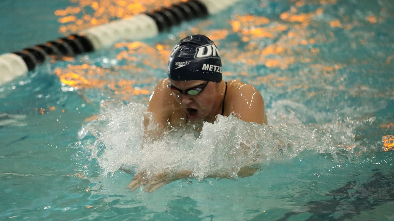 Metzler Wins 3 Events as New Hampshire Tops Vermont in America East Opener
