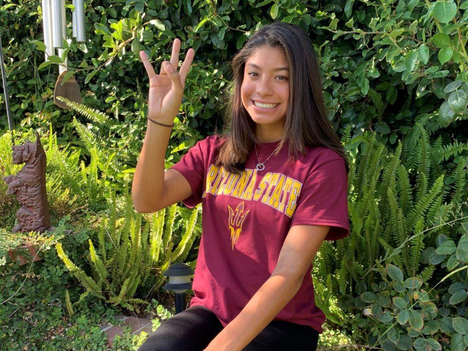 Trials Qualifier Izabella Adame (2021) Verbally Commits to Arizona State