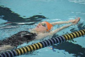 BGSU's Daisy Platts Swims 52.87 100 BK on Day 3 of MAC Championships