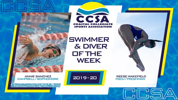 Campbell's Sanchez, FGCU's Wakefield Earn CCSA Women's Honors