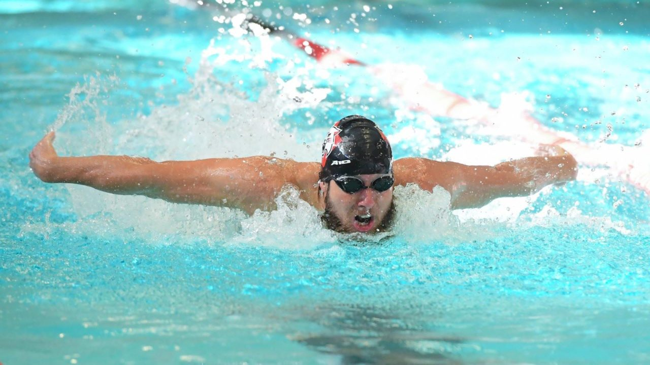 Davidson Men Win 11 of 16 Events, Defeat VMI 185-114