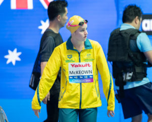 McKeown Fires Off 2:04.31 200 Back To Lower Own Aussie Record