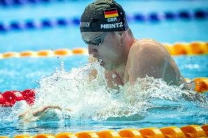 Philip Heintz Nuota Il Suo Secondo Miglior Tempo Di Sempre 200Mx