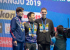 SETO Daiya Jay Litherland Lewis Clareburt 2019 FINA World Championship Courtesy of Rafael Domeyko