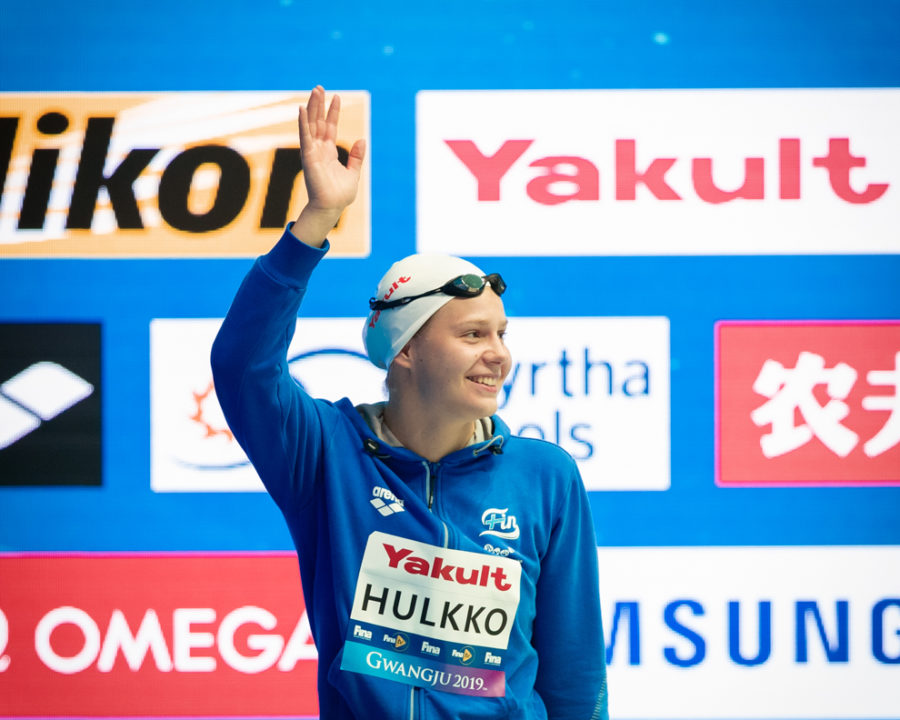 Ida Hulkko Breaks Finnish National Records in 50 and 100 LCM Breast