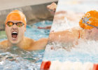 Alec Connolly Wins Trio of Events, Splits 19.4 as Tennessee Beats Georgia Tech