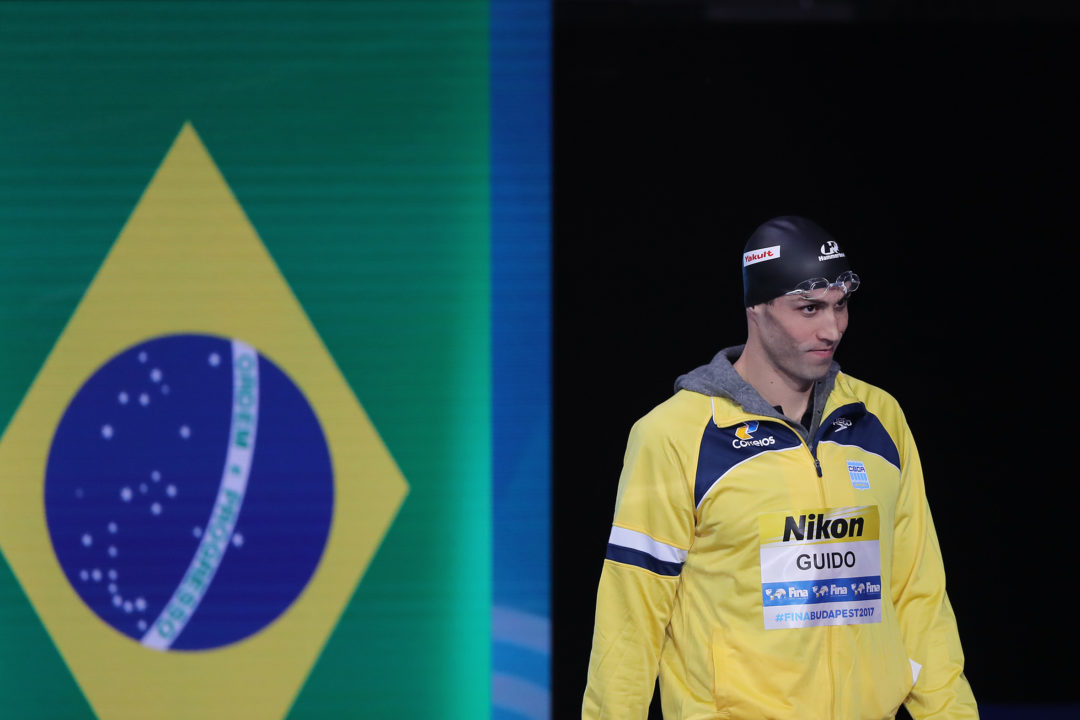 Guilherme Guido Swims 2nd-Best 50 Backstroke in History in Budapest