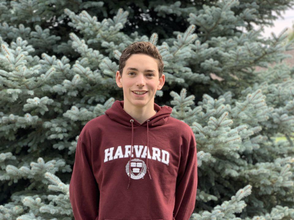 Colorado Breaststroker Zach Bartel Verbally Commits to Harvard for 2020-21