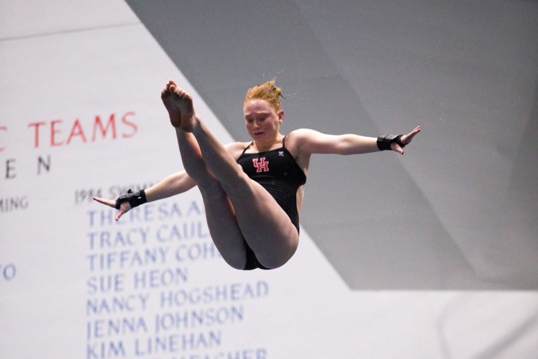 Houston Win Home Diving Invitational