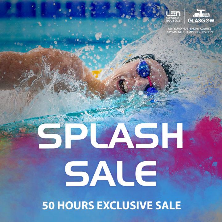 Flash Sale On European Short Course C'ships Tickets
