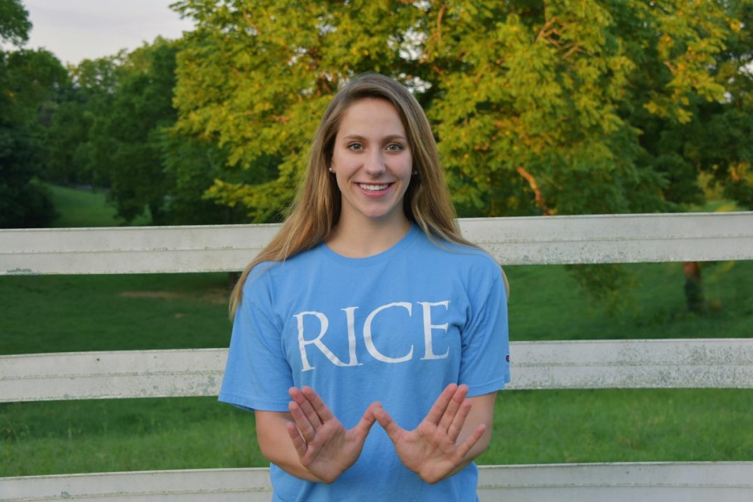 Nashville Swim Club's Lauren Hurt Commits to D1 Rice University