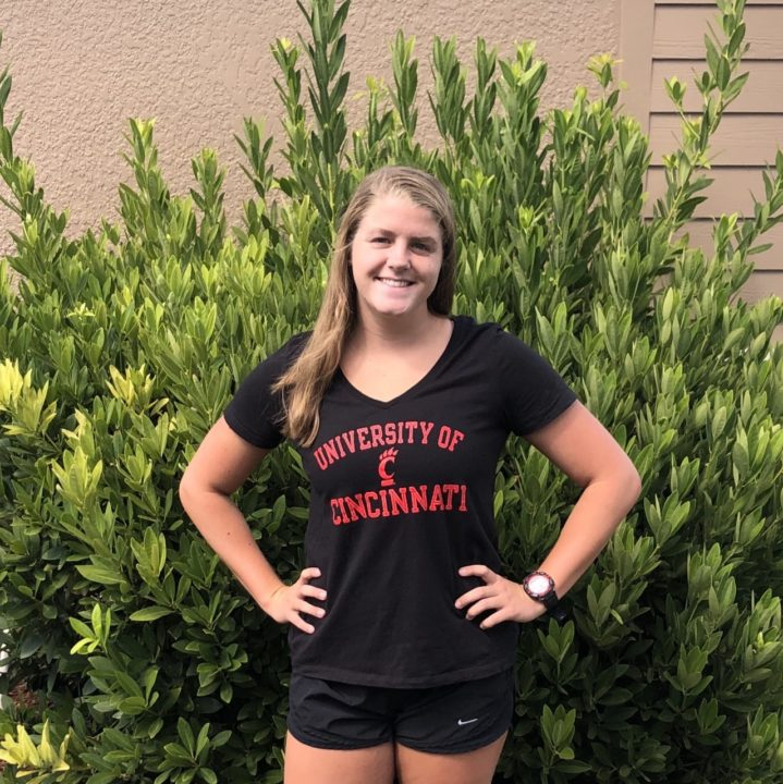 Morgan Shinault Verbally Commits to Swim for the University of Cincinnati