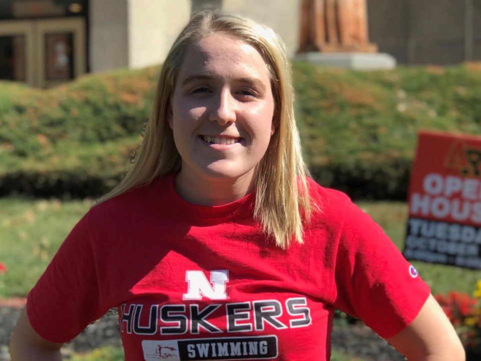 Nebraska Picks Up Verbal Commitment from 1:02/2:15 Breaststroker Allison Henry