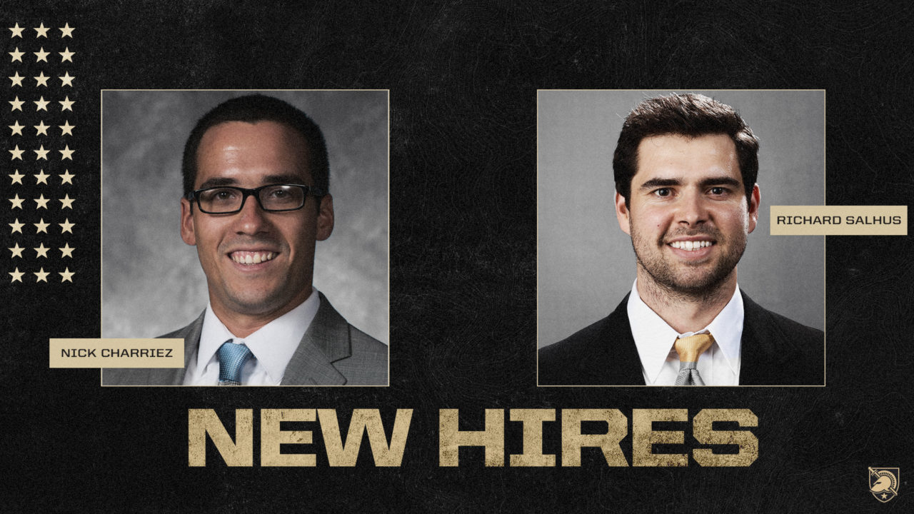 Army Hires Charriez, Salhus as Assistant Coaches