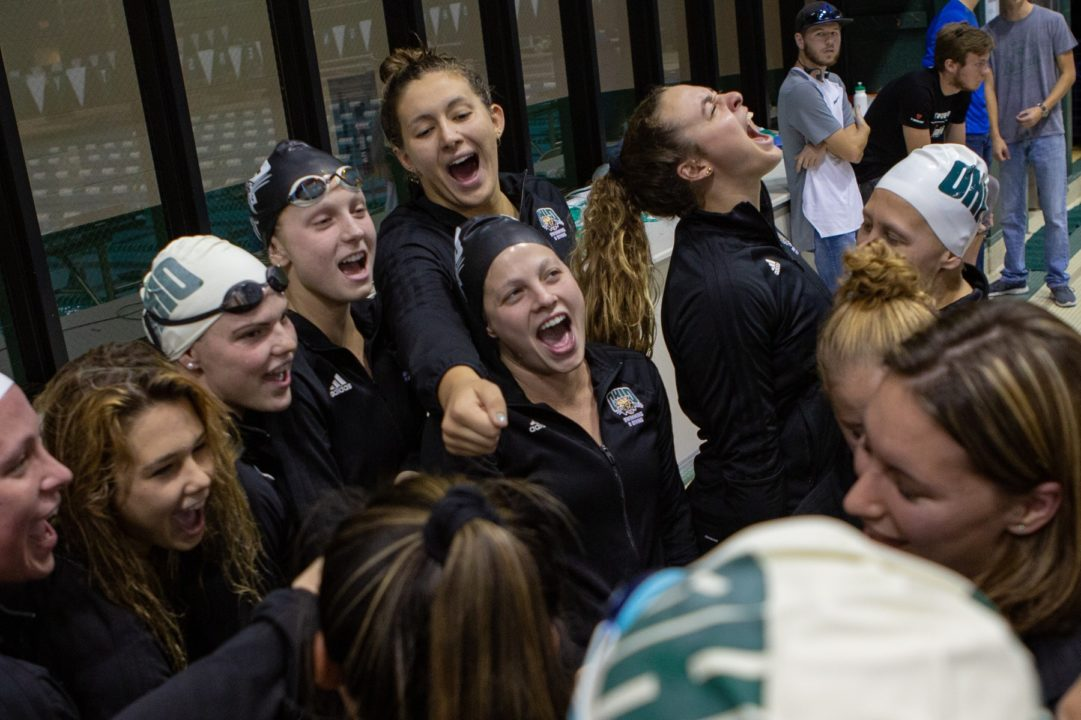Ohio Bobcats Set Nine Meet Records at Annual Green & White Meet