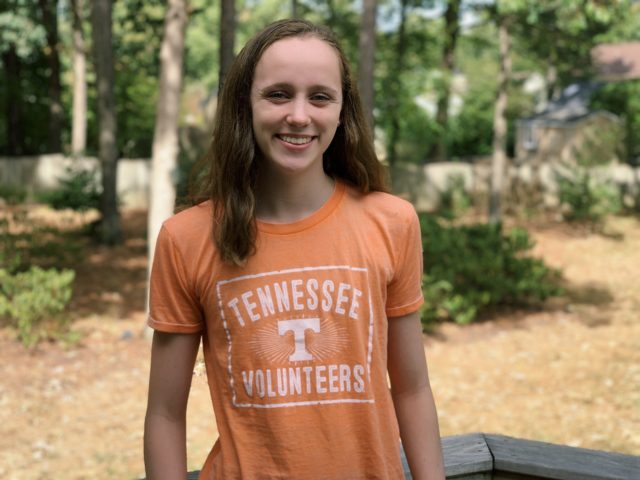 Another 2021 Verbal for the Lady Vols: Backstroker Josephine Fuller