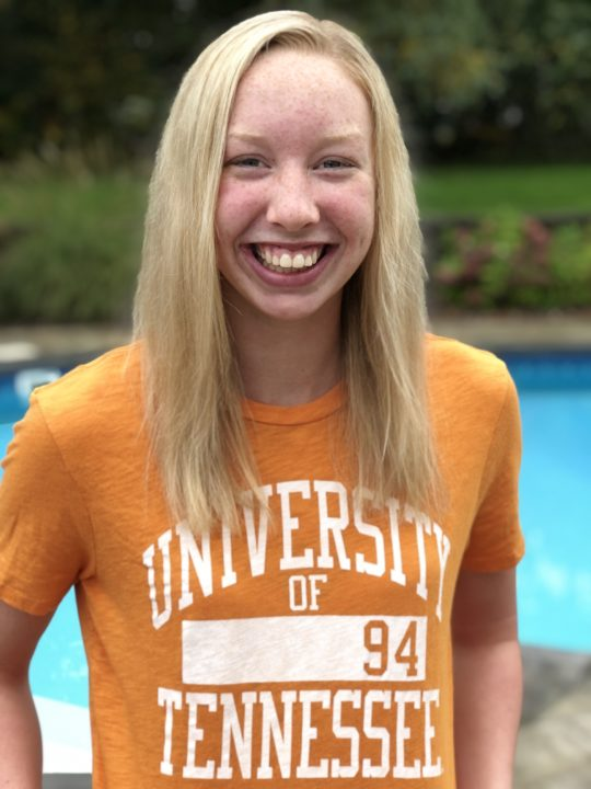National Junior Teamer Summer Smith (2021) Verbally Commits to Tennessee