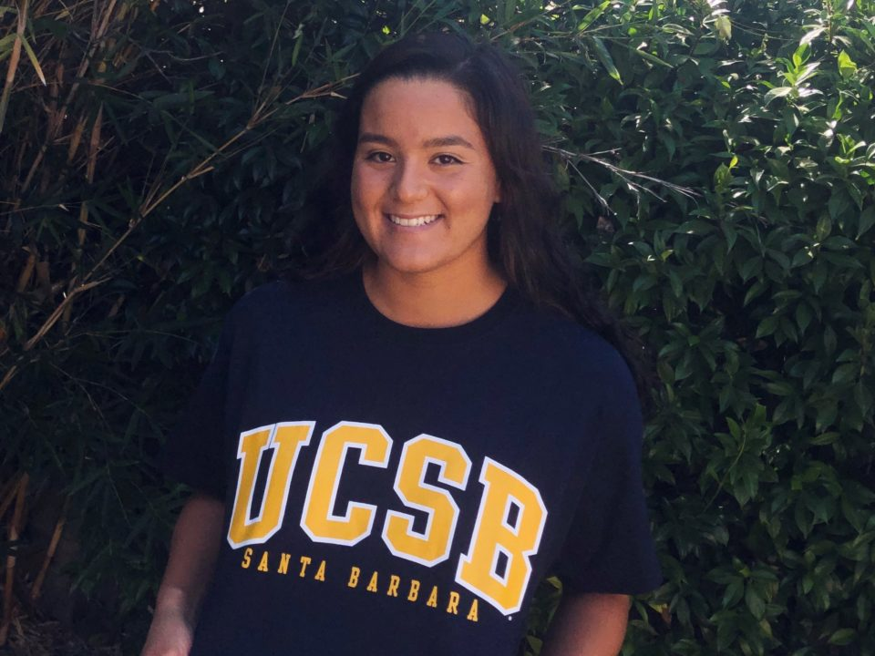 PASA's Paige Gambetta Makes Verbal Pledge to UCSB Gauchos