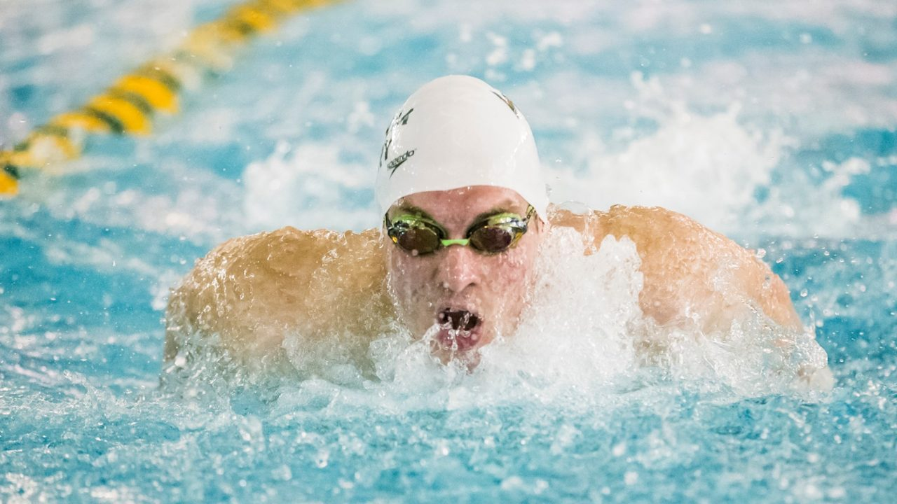 William & Mary Men, Towson Women Split Dual