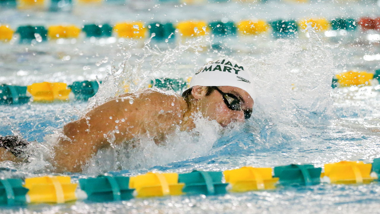 William & Mary Men Set 9 Records in Victory, Johns Hopkins Women Rally for Win