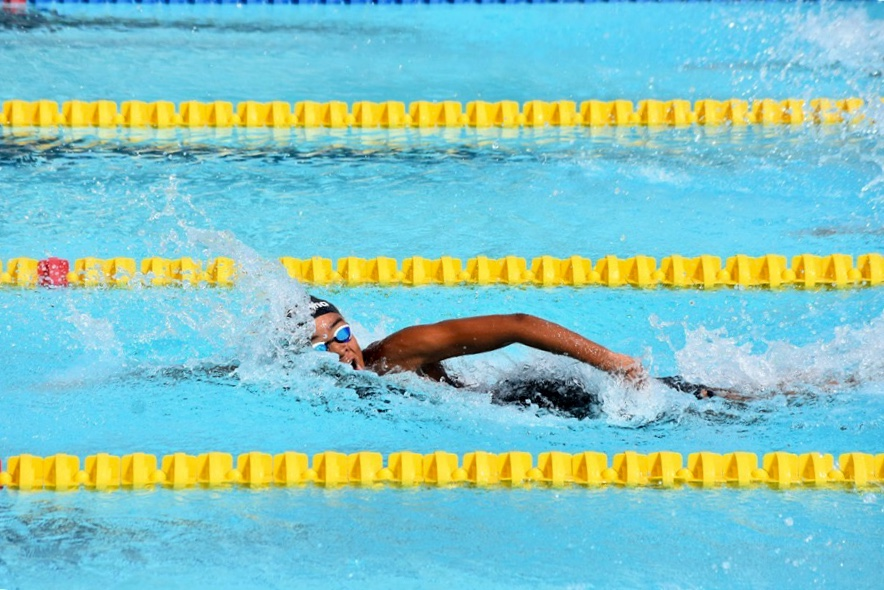 14-Year Old Zaneta Alvaranga Breaks Jamaican Age Group Record in 50 Free
