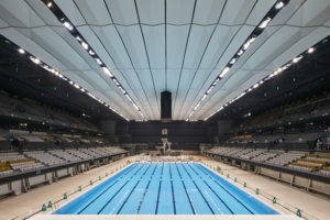 View Video Of Inside The Tokyo Olympic Aquatics Centre