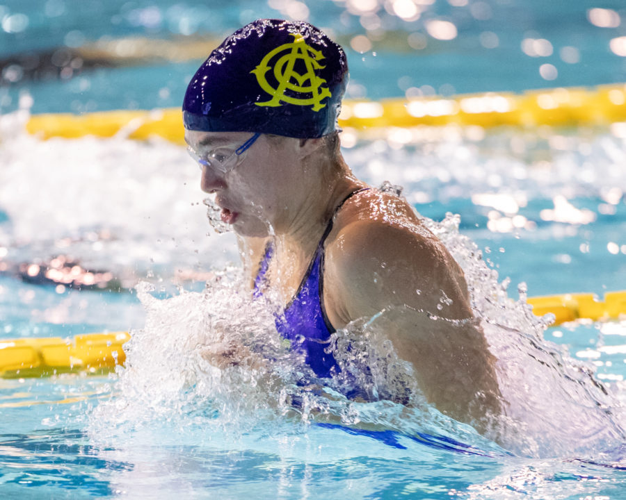 15-Year-Old Benedetta Pilato Busts Out 29.85 50 Breast World Jr Record
