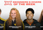Dixon, Bullock Earn Big 12 Swimmer of the Week Honors