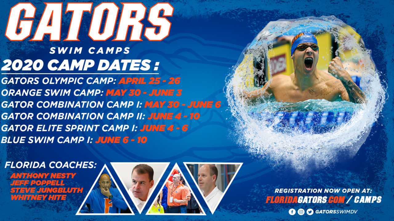 2020 Gator Swim Camps – Sign Up Today