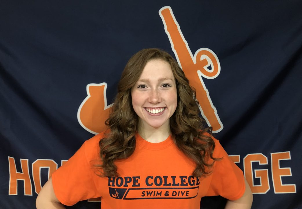 Two-time 2019 Girls SVL Champion Delaney Wesolek Commits to Hope College