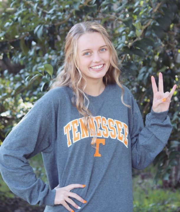 Florida 2A State Champion Sara Stotler Verbally Commits to Tennessee Swimming