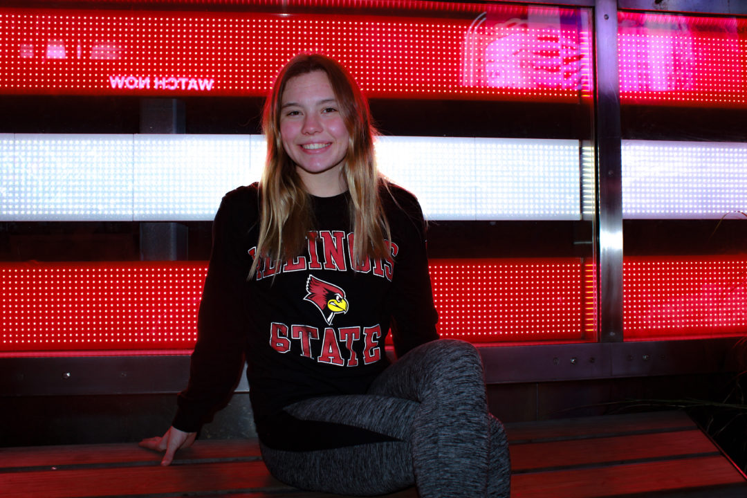 Illinois State Secures Commitment from Breaststroker Maili Simons
