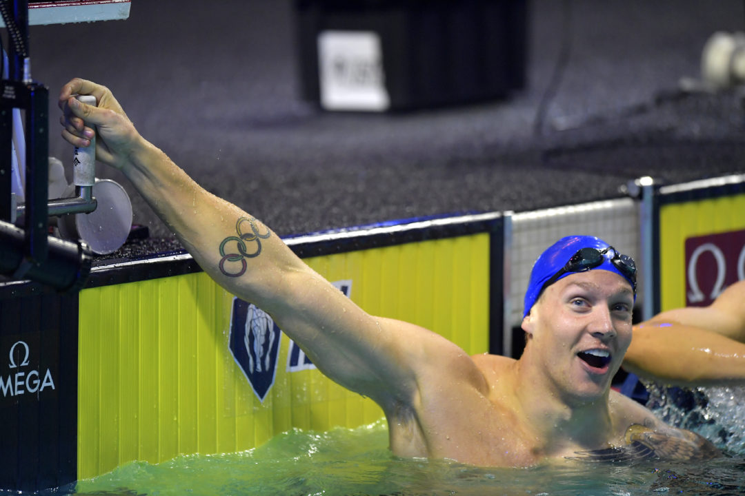 Dressel's $19K A New ISL Meet Record; He Overtakes Sjostrom For Series Lead
