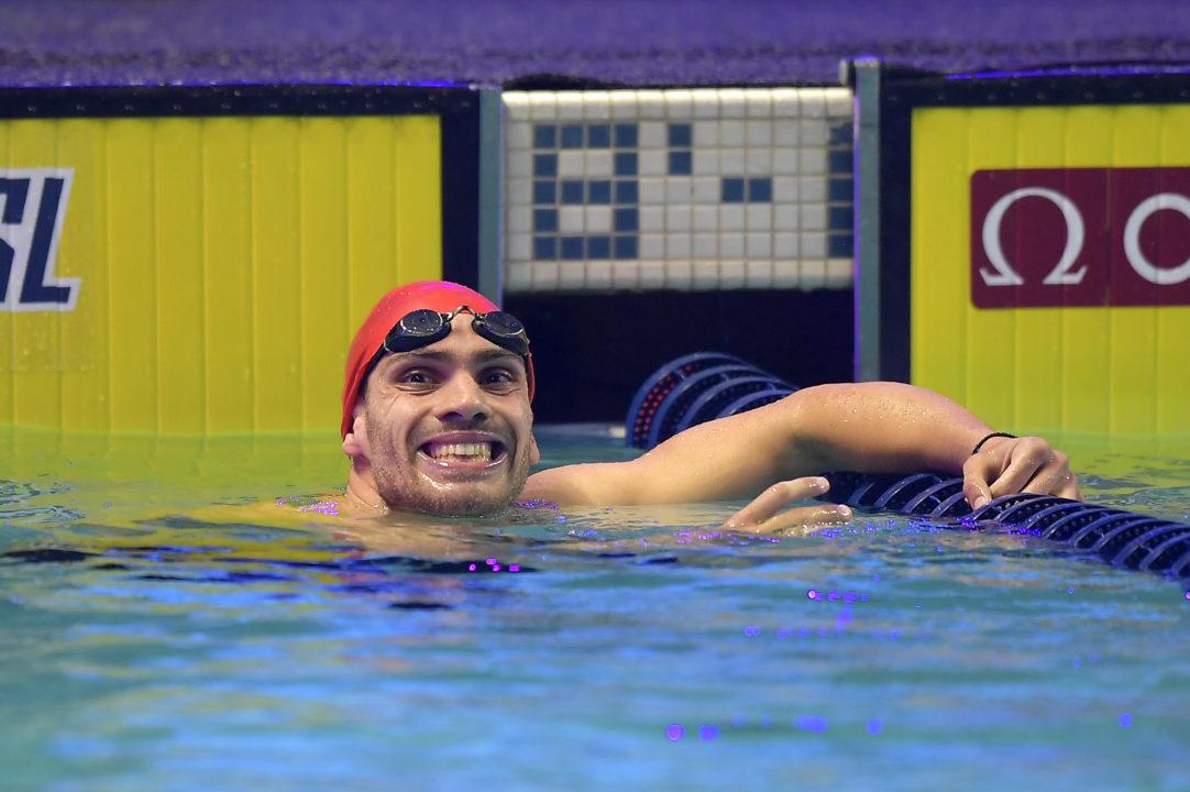 Andreas Vazaios Stuns Men's 200 IM Field With 1:50.85 European Record
