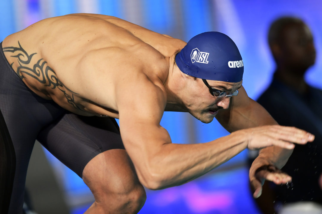 Manaudou Warms Up At French SC Nationals With 20.41 Relay Split