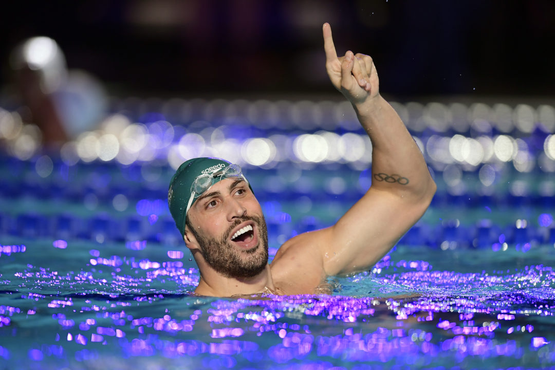 Guido Takes 0.05 Off South American Record With 49.40 Relay Leadoff
