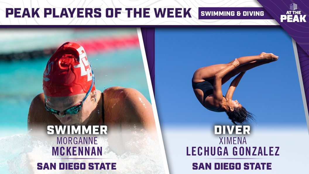 San Diego State Sweeps Mountain West Weekly Honors