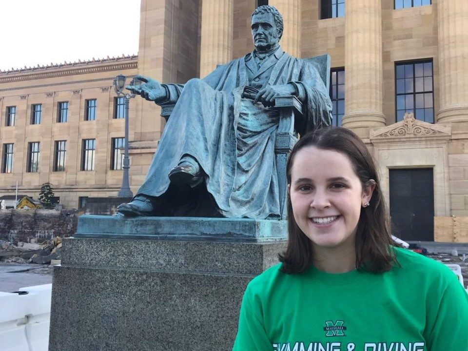 Open Water National 5K Qualifier Gina Cantoral Commits to Marshall University