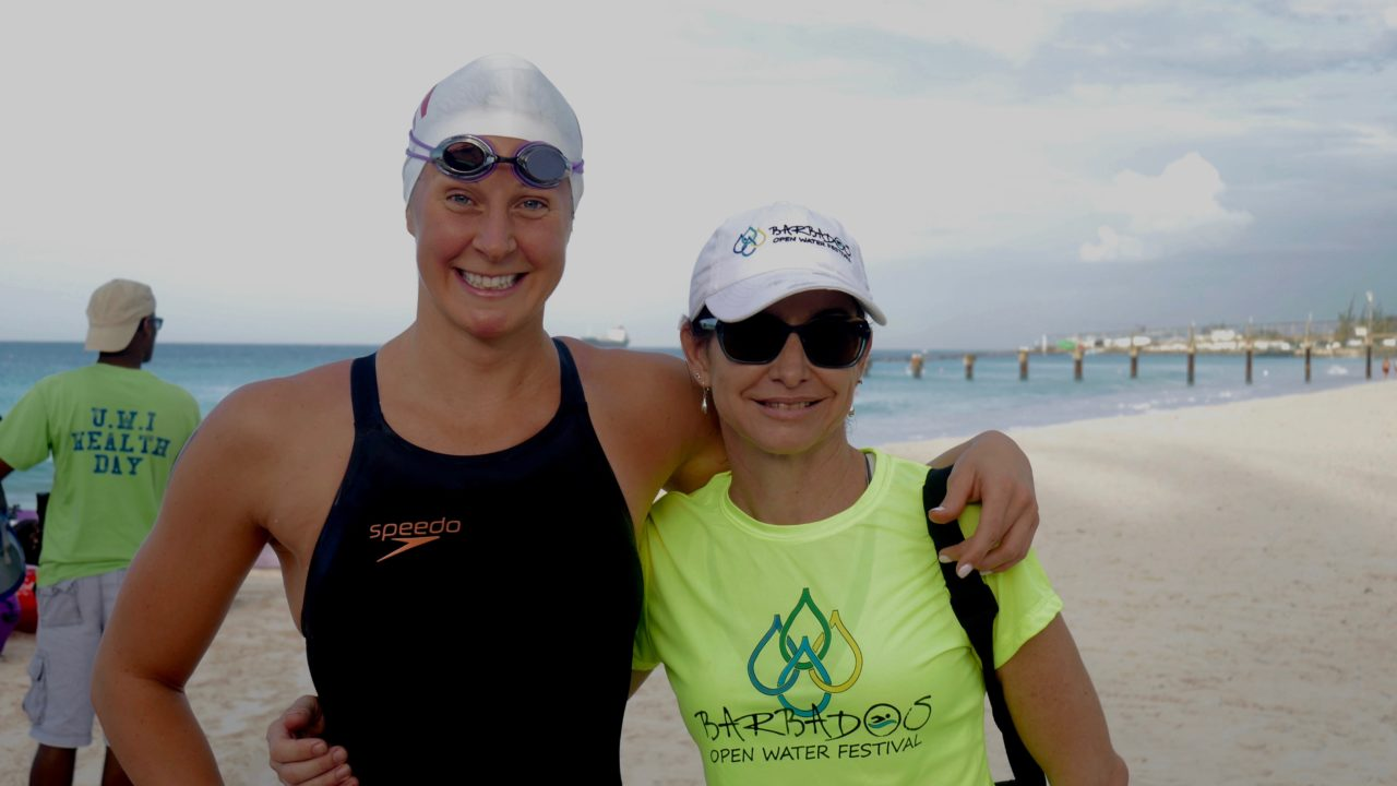 Three-Time Olympian Steph Horner Wins Double at Barbados Open Water Festival