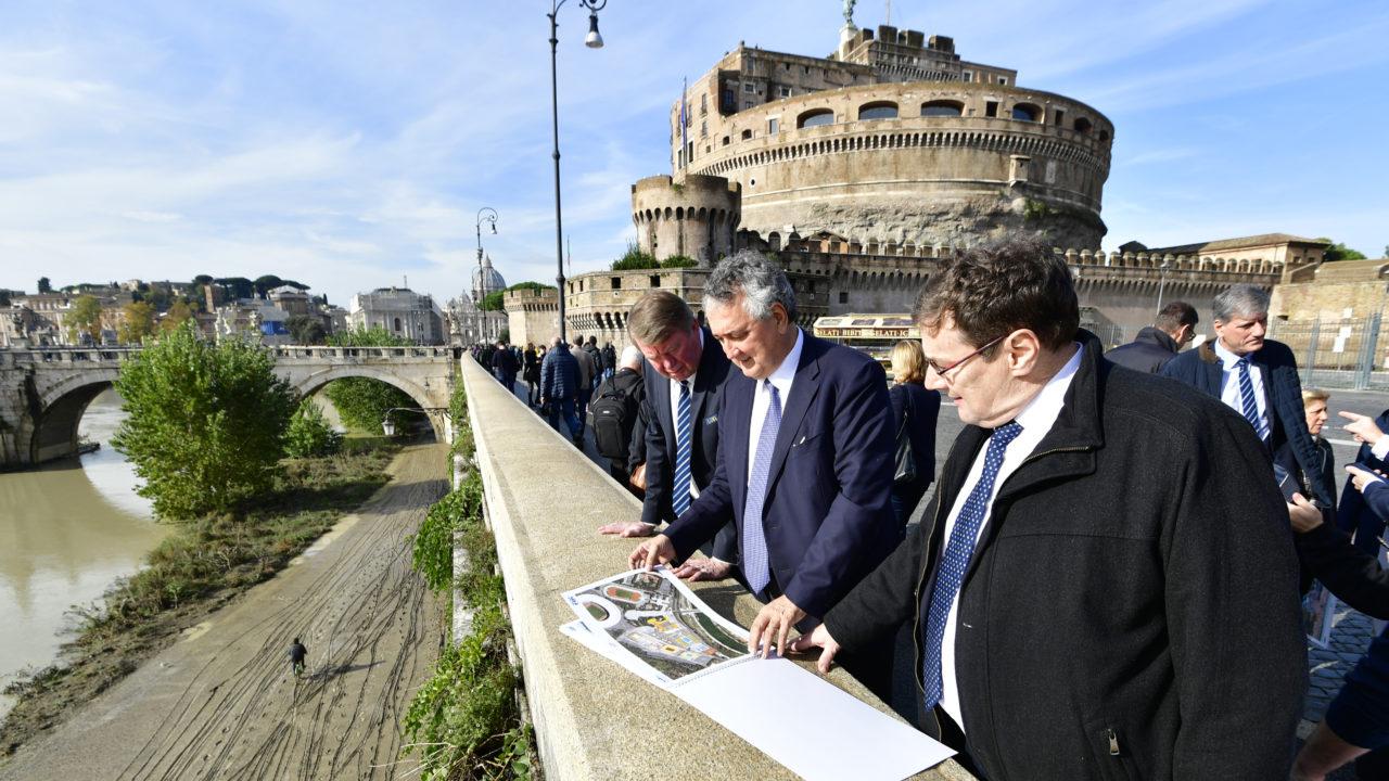 Il Sindaco DI Roma Riceve Delegazione Len Per Euro 2022