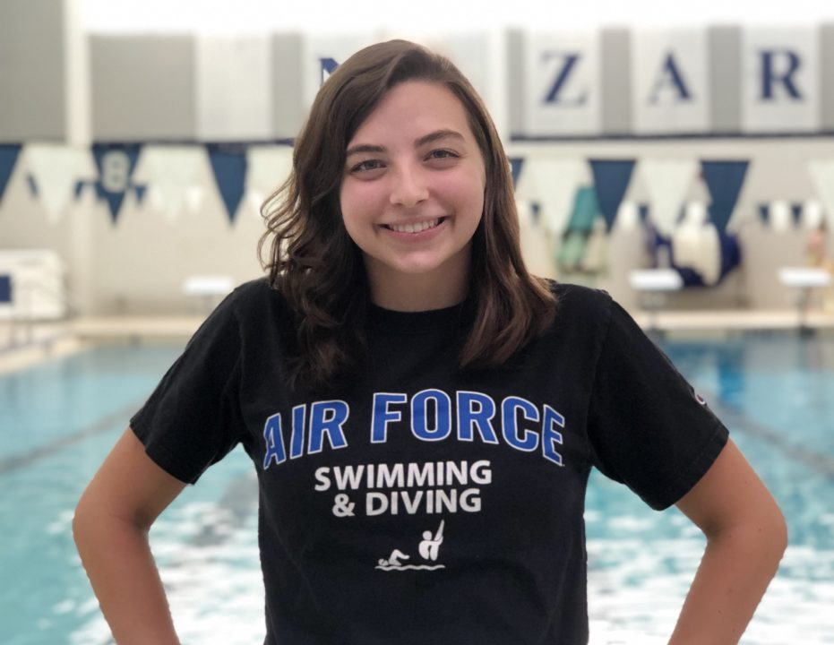 Sprinter Raquelle Roesch Delivers Verbal Commit To Air Force For Fall of 2020