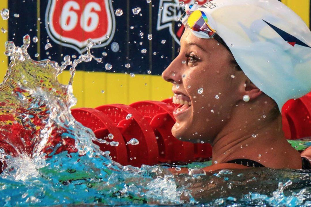 Kathleen Baker, Team Elite Get Back to Training in 22-Yard Pool