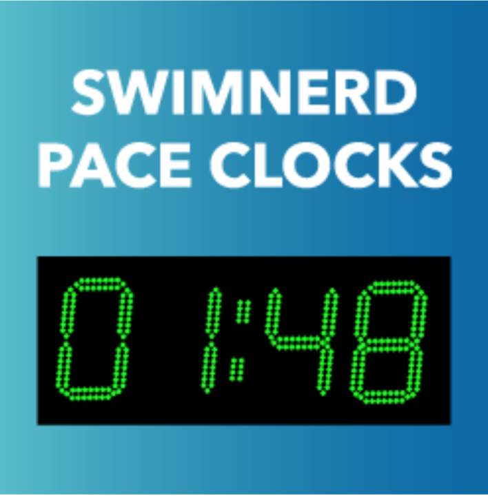 SwimNerd Pace Clocks $499 Today Only, Dec 2nd 2019