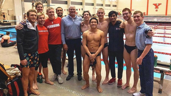 Thom Bosse Endows Scholarship For Youngstown State Men's Swimming Program