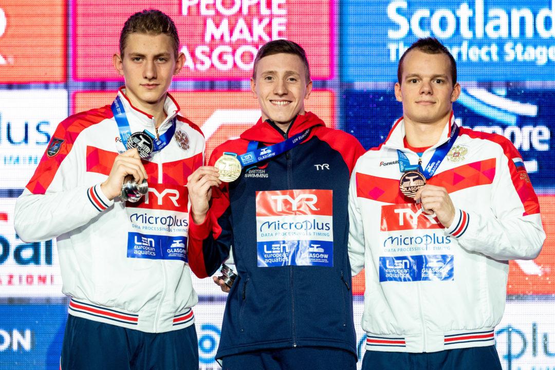 Ilya Borodin, 17 años, bate el récord mundial junior en 400 estilos