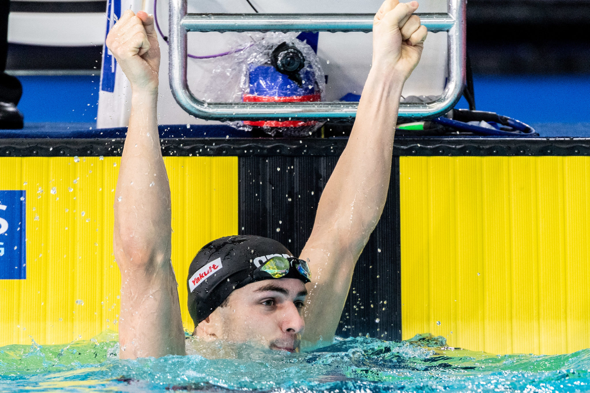 Arno Kamminga Fires Off Unofficial 58.4 100 Breast, 2:08 200 Breast Combo