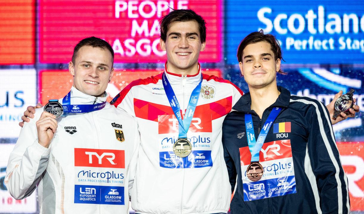Europeo día 5: Rusia gana el medallero con un triplete de Kliment Kolesnikov