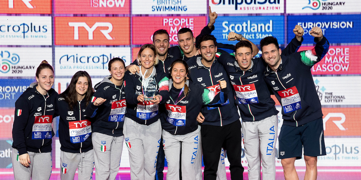Italy Has Most Successful European SC Championships Ever with 20 Medals