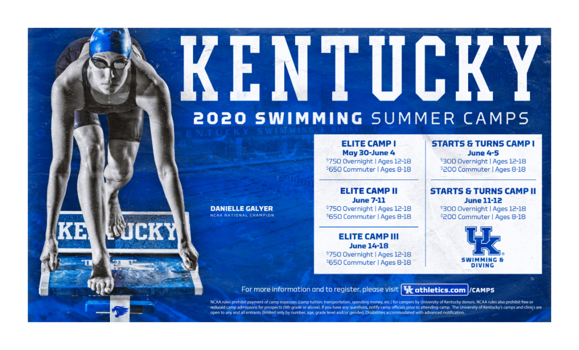 Kentucky Swimming Camps – Sign Up Today