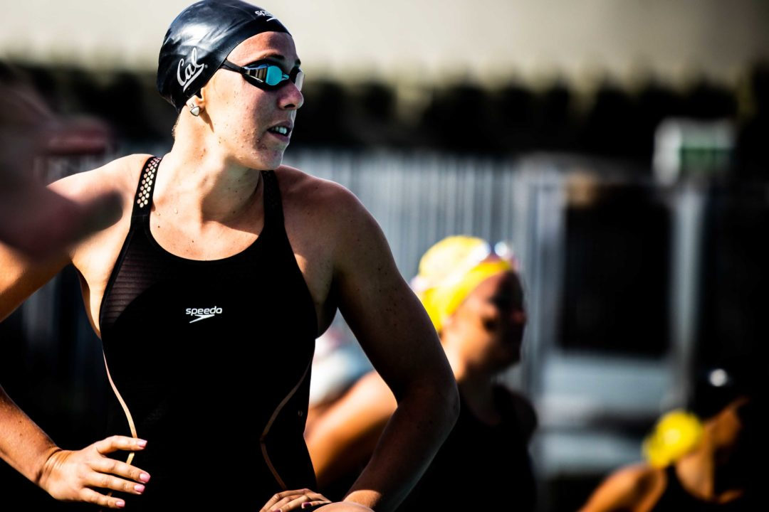 Weitzeil Sweeps Sprints, Splits 20.8 as Cal Beats Pac-12 Rival USC